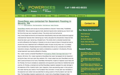 Screenshot of Blog powerbees.com - PowerBees Blog PowerBees Blog » - captured Oct. 3, 2014