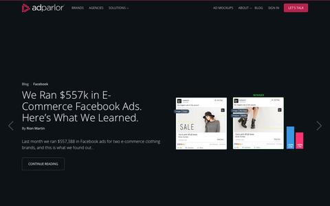 AdParlor | Video and Social Advertising Platform