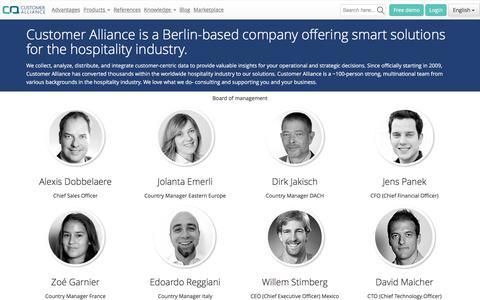 Screenshot of About Page customer-alliance.com - About us - Customer Alliance   Customer Alliance - captured Nov. 14, 2016