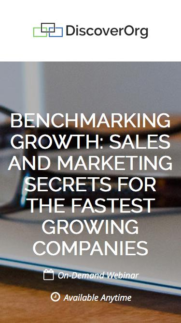 Benchmarking Growth