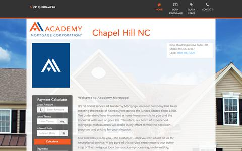 Chapel Hill NC - Academy Mortgage Corporation