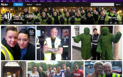 Screenshot of Flickr Page flickr.com - Flickr: Serenity Security's Photostream - captured Oct. 26, 2014