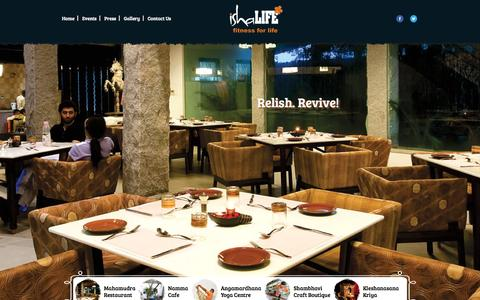 Screenshot of Home Page ishalife.com - Restaurants in Chennai | South Indian Restaurant | Veg Friendly Restaurant | Finest Vegetarian Restaurant | Fine Dining Restaurant. - captured Sept. 30, 2015