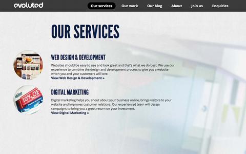 Sheffield Creative Agency - Evoluted