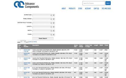 List| Advance Components