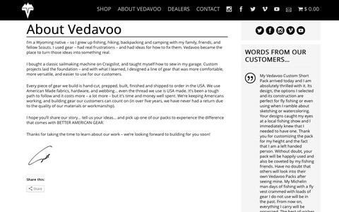 Screenshot of About Page vedavoo.com - About Vedavoo | VEDAVOO - captured Aug. 12, 2016