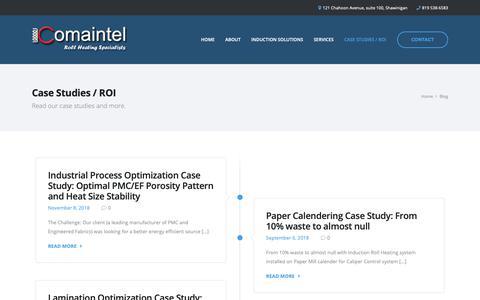 Screenshot of Blog comaintel.com - Blog «  Comaintel - captured Dec. 8, 2018
