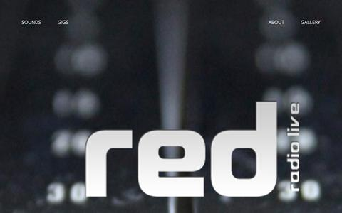 Screenshot of Team Page redradio.co - Red Radio Live - The Team - captured Oct. 26, 2014