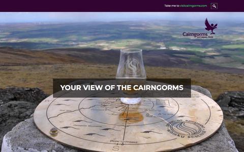 Screenshot of Blog visitcairngorms.com - Inside Guide to the Cairngorms | Visit Cairngorms Blog - captured Sept. 23, 2018