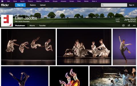 Screenshot of Flickr Page flickr.com - Flickr: Ellen Jacobs Associates' Photostream - captured Nov. 1, 2014