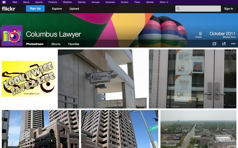Screenshot of Flickr Page flickr.com - Flickr: Columbus Lawyer's Photostream - captured Oct. 23, 2014