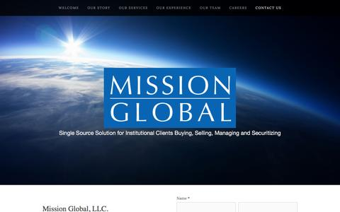 Screenshot of Contact Page gfreview.com - Contact Us — Mission Global - captured Jan. 29, 2016