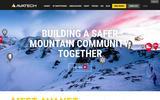 New Screenshot AvaTech, Inc. Home Page