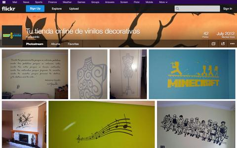 Screenshot of Flickr Page flickr.com - Flickr: masquevinilo's Photostream - captured Oct. 27, 2014
