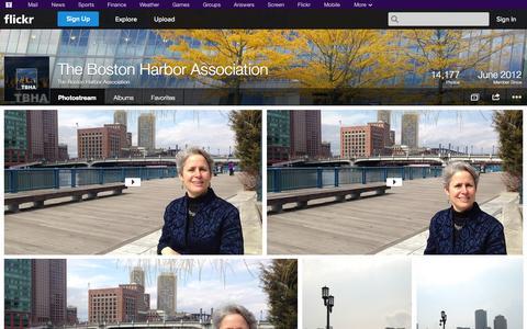 Screenshot of Flickr Page flickr.com - Flickr: The Boston Harbor Association's Photostream - captured Oct. 25, 2014