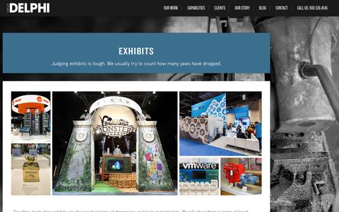 Custom Trade Show Exhibit Design | Group Delphi