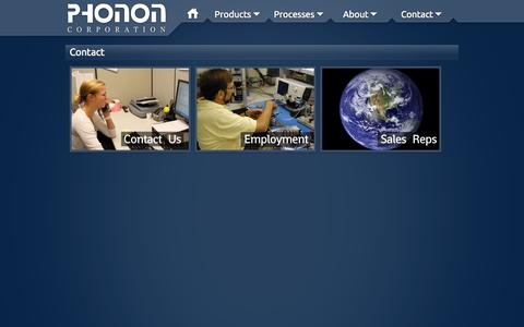 Screenshot of Contact Page phonon.com - Phonon Corp. - Contact - captured Oct. 2, 2014