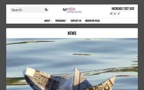 Screenshot of Press Page bjl.org.au - News | BJL - captured Oct. 4, 2014