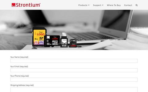 Customization | Strontium