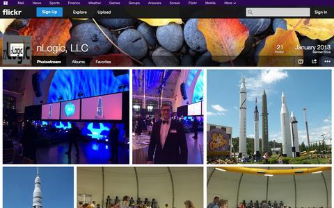 Screenshot of Flickr Page flickr.com - Flickr: nLogic, LLC's Photostream - captured Oct. 26, 2014