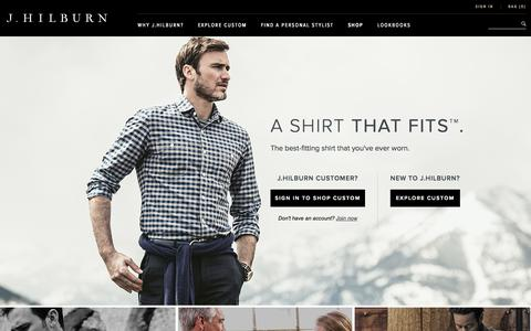 Screenshot of Home Page jhilburn.com - J.Hilburn - captured Sept. 16, 2014