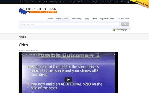 Screenshot of Press Page thebluecollarinvestor.com - Media | The Blue Collar Investor - captured Aug. 14, 2016