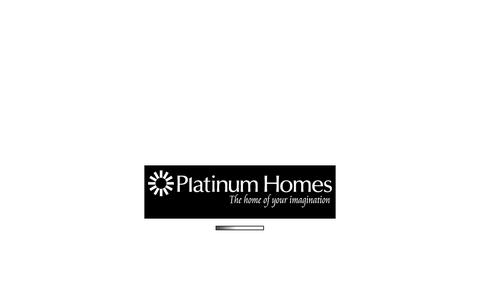 Screenshot of Contact Page platinumhomes.net.au - Platinum Homes - CONTACT US - captured Oct. 28, 2014