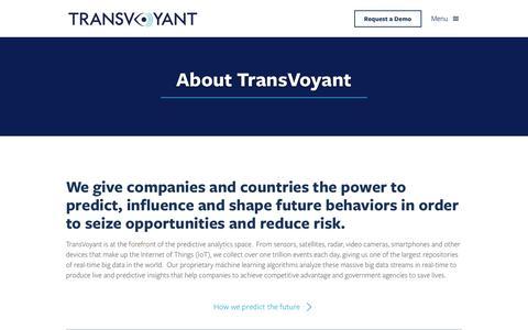 Company | TransVoyant