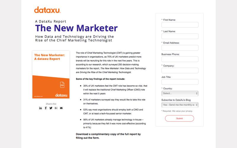 The New Marketer - Study