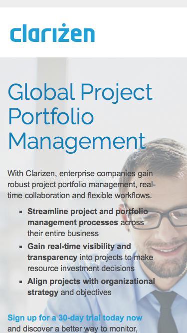 Project & Portfolio Management Software l Clarizen