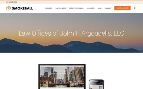 Law Offices of John F. Argoudelis, LLC - Smokeball