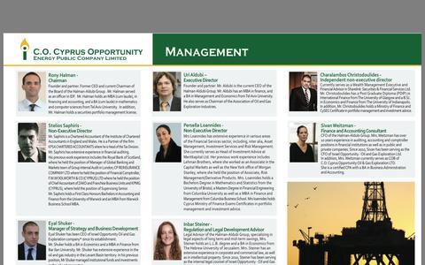 Screenshot of Team Page oilandgas.com.cy captured Oct. 1, 2014