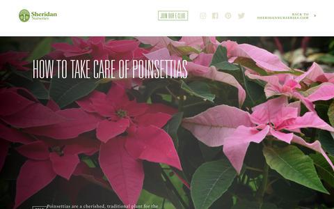 Screenshot of Blog sheridannurseries.com - Sheridan Nurseries Blog - captured Dec. 13, 2018