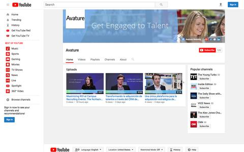 Avature  - YouTube