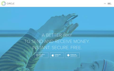 Circle | Send & Receive Money. Secure, Instant & Free.