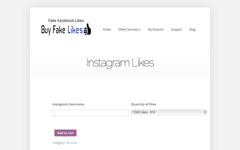 Instagram Likes | Buy Fake Facebook Likes