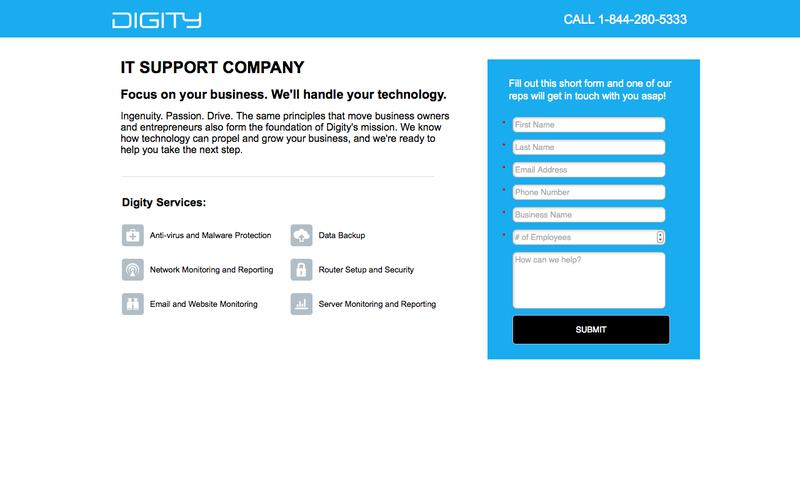 IT Support Company - Digity
