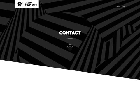 Screenshot of Contact Page zebracrossing.in - Zebra Crossing Contact - Zebra Crossing - captured Nov. 6, 2018
