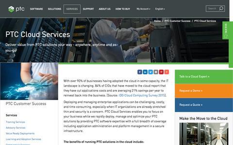 PTC Cloud Services | PTC