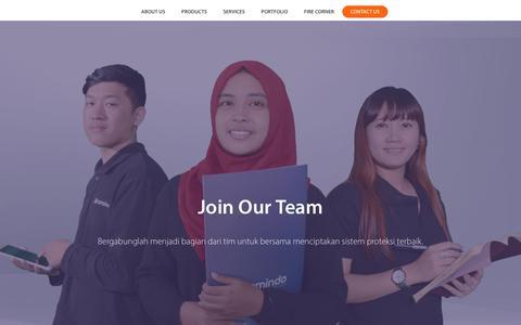 Screenshot of Jobs Page bromindo.com - Careers • Bromindo - captured Oct. 6, 2018