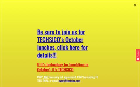 Screenshot of Team Page techsico.com - Our Team - Techsico - captured Oct. 18, 2018