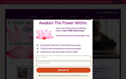 Screenshot of Testimonials Page soulguidedcoach.com - Testimonials For Yol Swan, Spiritual Counselor, Life & Business Coach - Online & Asheville NC | Spiritual Counselor, Life & Business Coach, Indigo & Crystal Energy Healing - captured Sept. 23, 2018