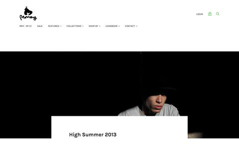 High Summer 2013 — MONEY