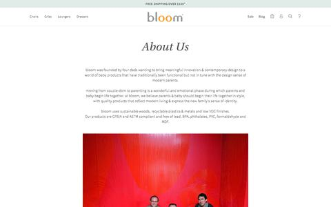 About Us – bloom