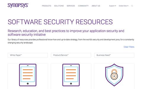 Software Security & Application Security - Resources