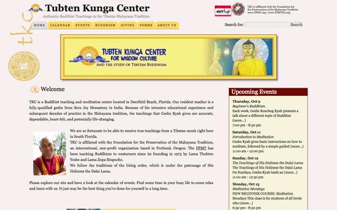 Tubten Kunga Center — Authentic Buddhist Teachings in the Tibetan Mahayana Tradition