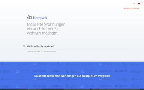 Möblierte Wohnungen & Zimmer - Suche, Vergleiche &  Miete   Nestpick