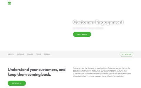 Customer Engagement   Clover   www.clover.com
