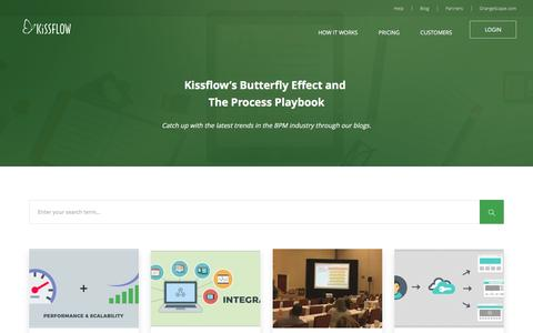 Workflow Management Software & BPM Blog | KiSSFLOW