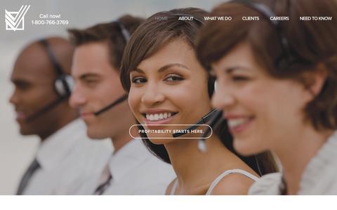 Screenshot of Home Page creditfinancialservices.com - Credit Financial Services - captured Oct. 3, 2014
